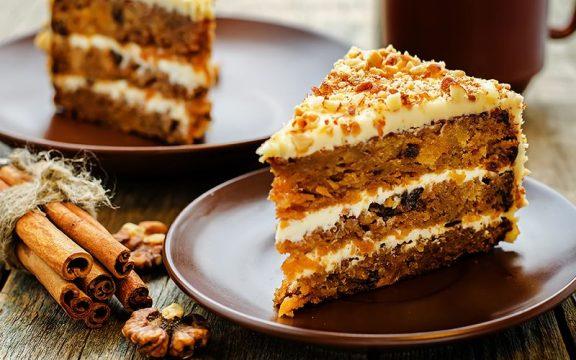 Κέικ καρότου (χωρίς αυγά)