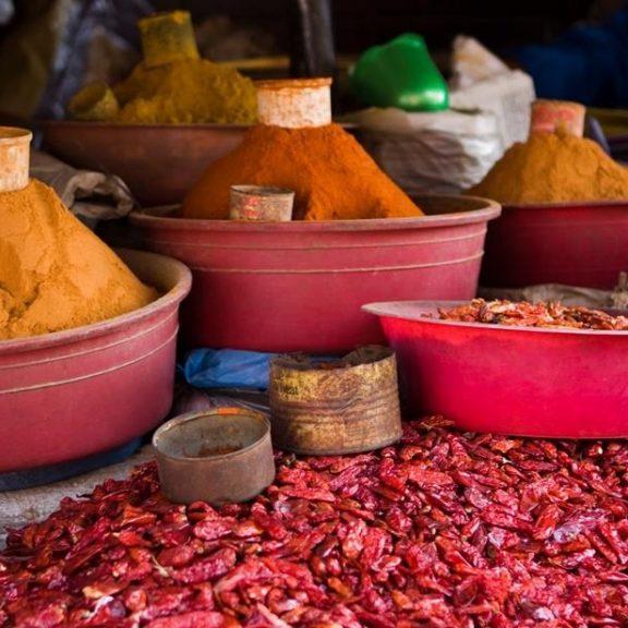 Αιθιοπικό berbere ( πικάντικο μείγμα μπαχαρικών )
