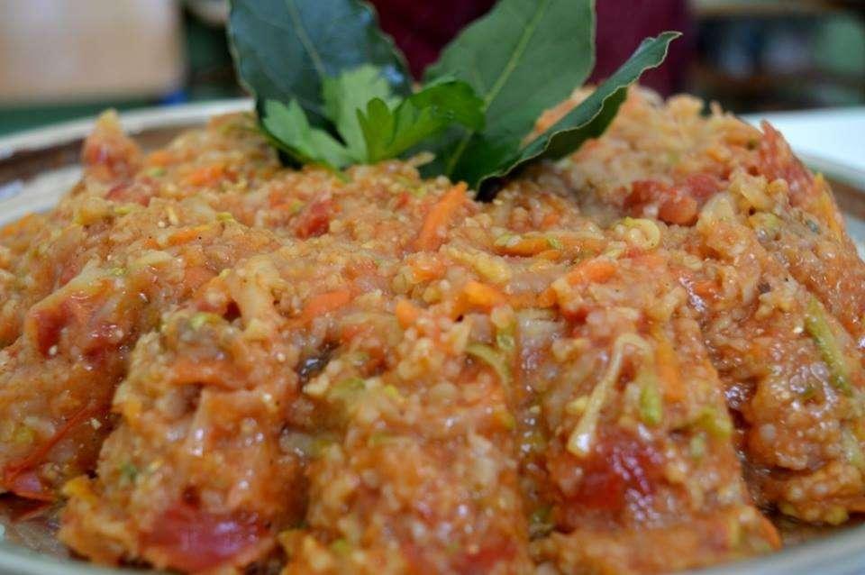 χόντρος με λαχανικά