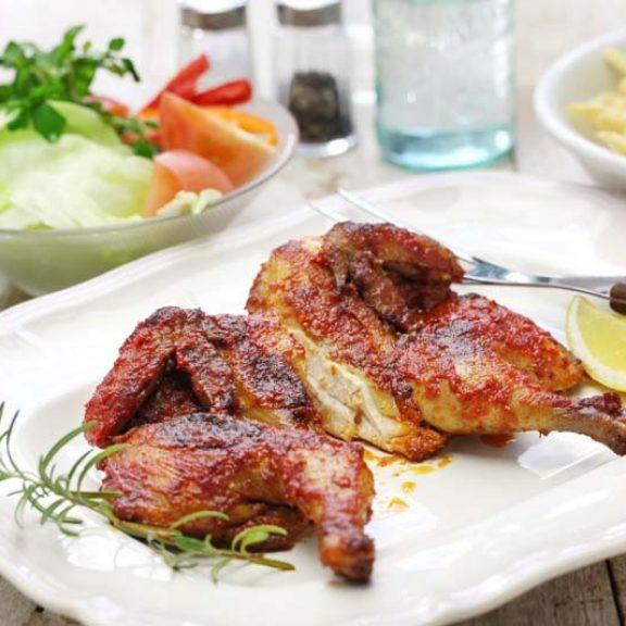Πορτογαλικό κοτόπουλο πίρι πίρι