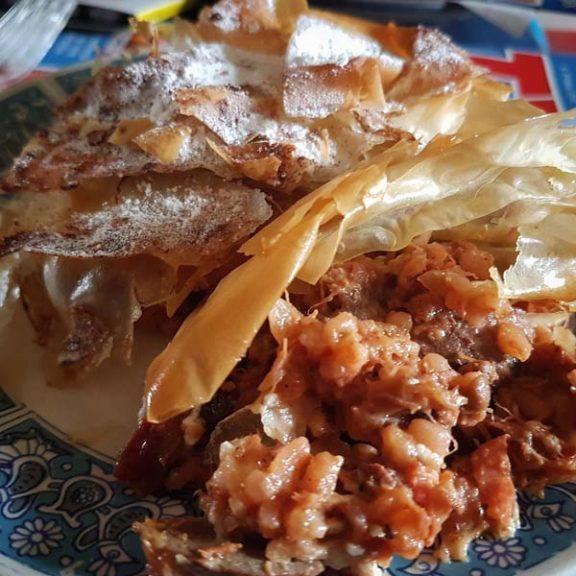 Μαροκινή Pastilla με αρνί