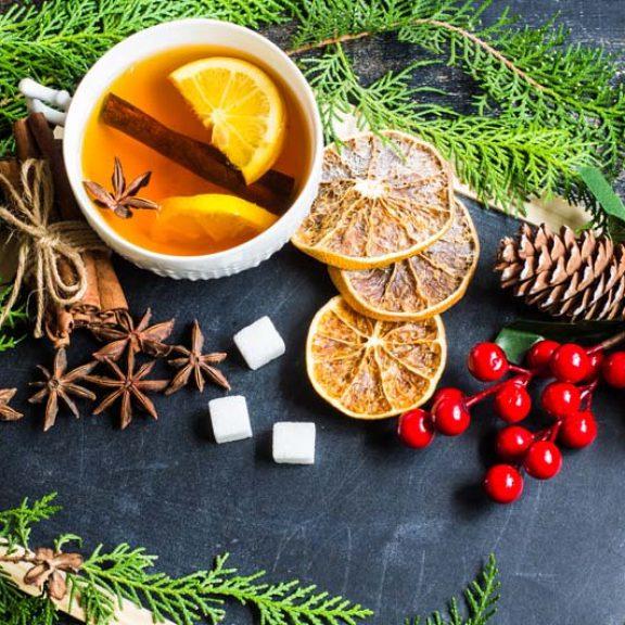 Χριστουγεννιάτικο τσάι ( χωρίς τσάι )