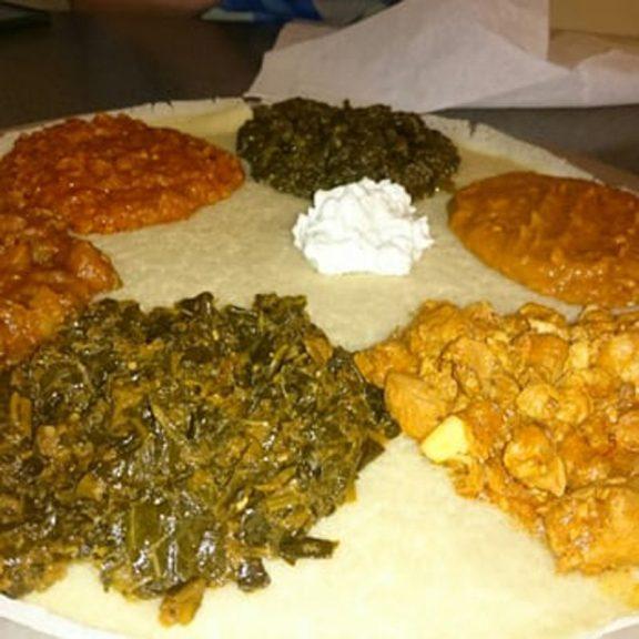Gomen wat ( Αιθιοπικό λάχανο )