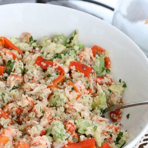 Σαλάτα με κινόα και φέτα