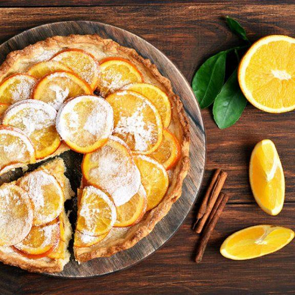 Τάρτα πορτοκάλι