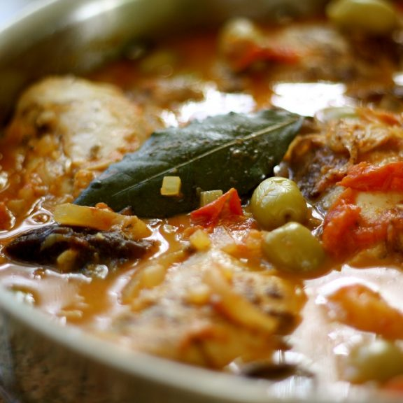 Μαροκινό κοτόπουλο με κους κους