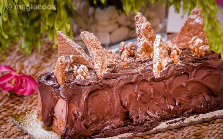 Τούρτα παγωτό – Καλοκαιρινή σοκολατοτρέλα!!!! της Μαρίας Καλογεροπούλου