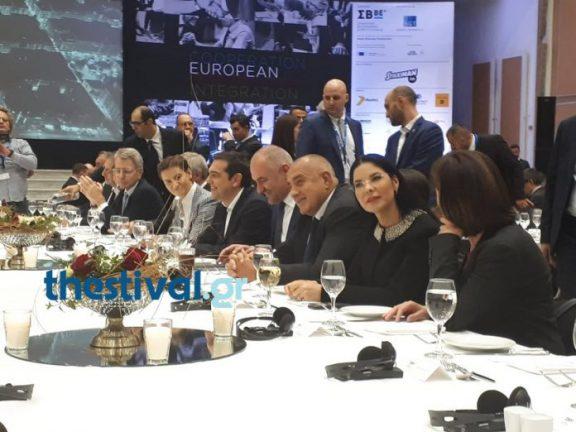 Thessaloniki Summit: Φύκια wakame, tobiko και yuzu το μενού στο επίσημο δείπνο