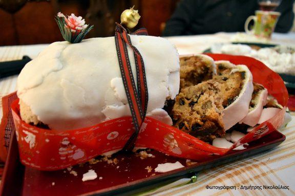 Χριστουγεννιάτικο κέϊκ ( μία παραλλαγή της διάσημης αγγλικής πουτίγκας), της Πηνελόπης