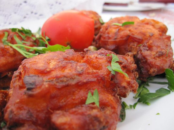 Tomato- fritters