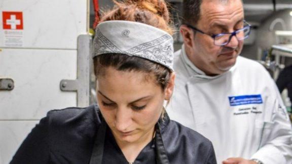 Η Ροδίτισσα Ειρήνη Γιωργουδιού καλύτερη νεαρή Ευρωπαία σεφ για το 2019!