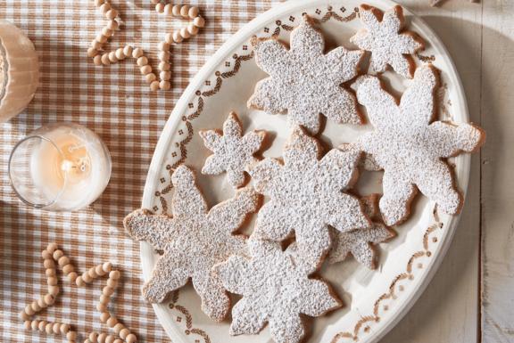 Υπέροχα χριστουγεννιάτικα μπισκότα με φιστίκια πεκάν