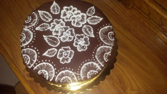 Παντεσπάνι σοκολάτας εξαιρετικό, της Στελλίνας